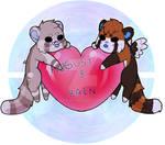 Valentines chibi