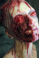 Zombie Woman vers4 closeup by mikesneath
