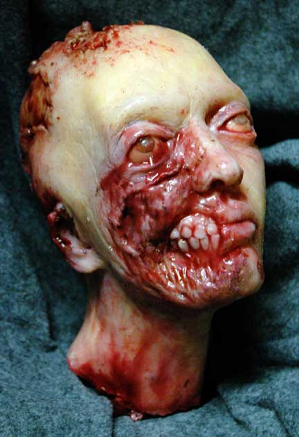 how to make a severed head