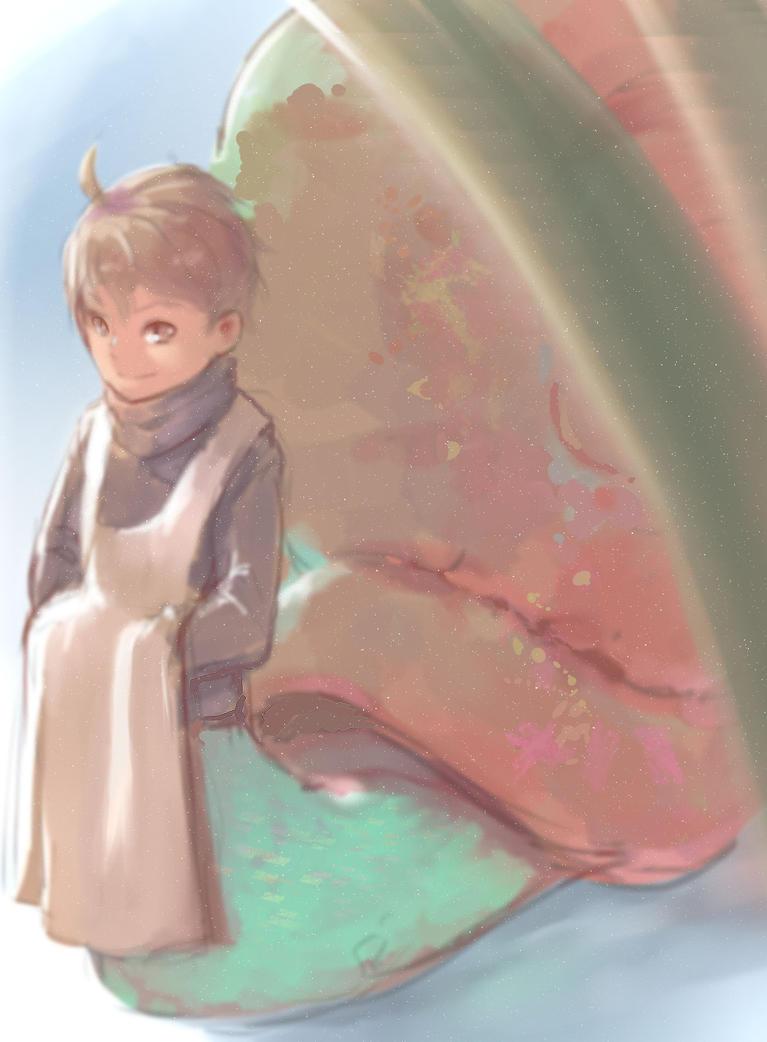 Snail Artist by LonPi