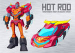 Transformers: Robots in Disguise (2015) Hot Rod