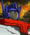Optimus Prime--etude