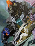 Trypticon on canvas