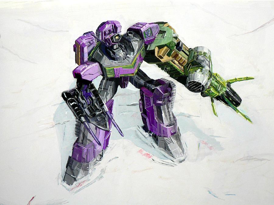 [Pro Art et Fan Art] Artistes à découvrir: Séries Animé Transformers, Films Transformers et non TF - Page 4 Shockblast__the_power_by_marble_v-d48enw4