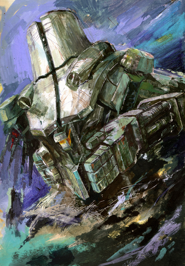 Cherno Alpha_drawing by marble-v on DeviantArt Pacific Rim Cherno Alpha Destroyed
