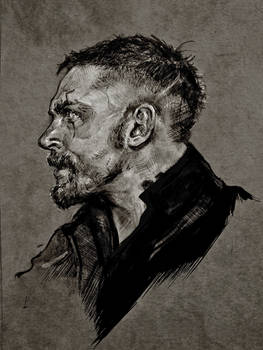 Tom Hardy from Taboo