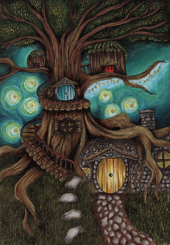 Fairy House by LindseyTebaldi