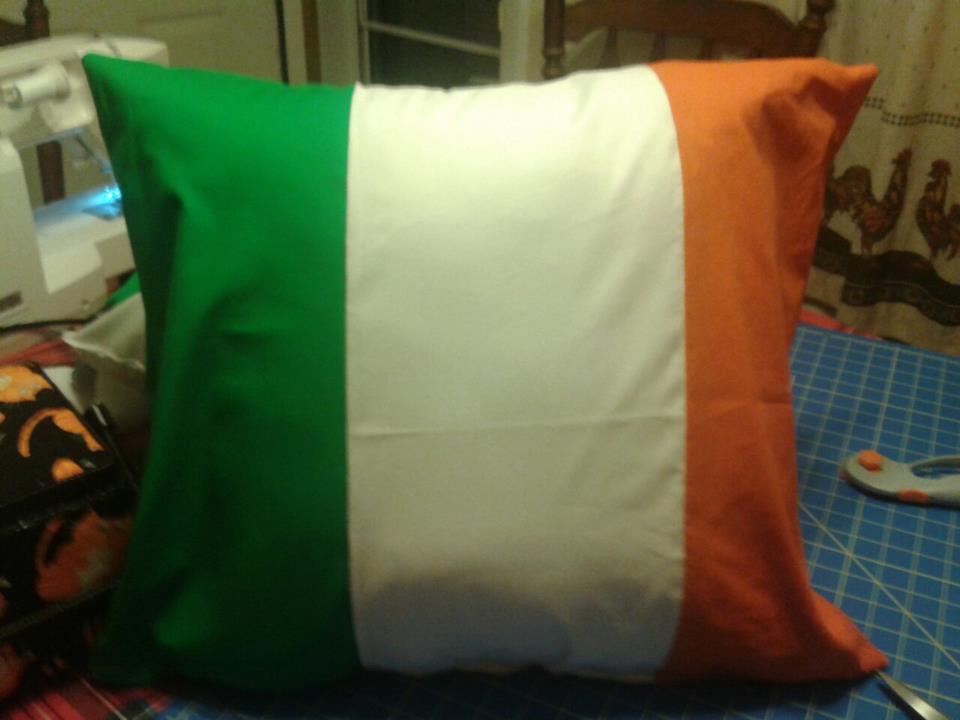 Ireland flag by girlnephilim90