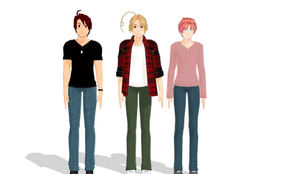 this where I had edit stop on MMD for while by girlnephilim90