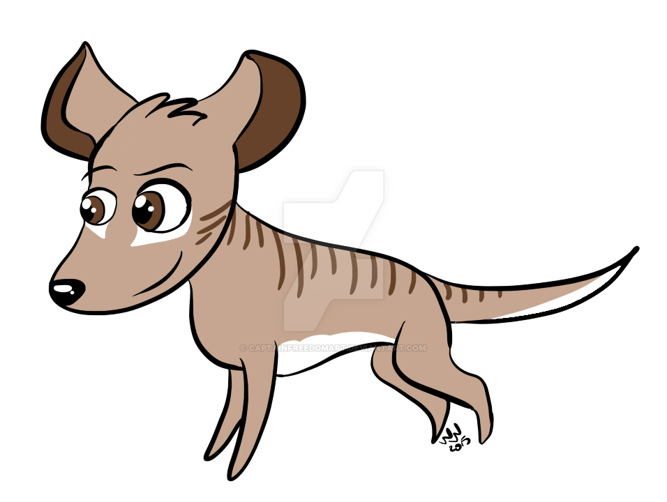 Ty the Thylacine! by CaptainFreedomArt