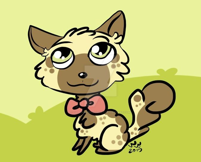 Cute Fluffy Cat - For SilentRtist's Contest! by CaptainFreedomArt