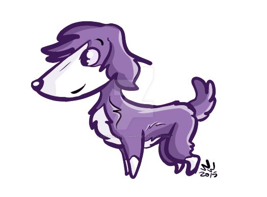 Purple by CaptainFreedomArt