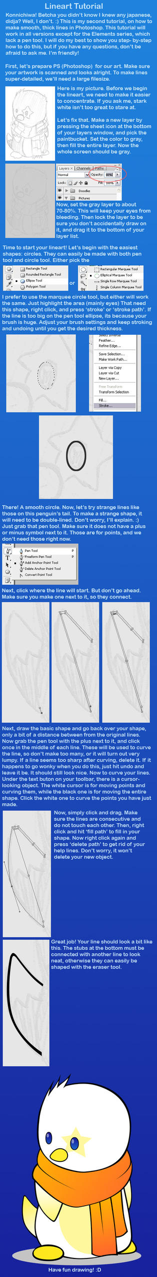 Smooth Line Tutorial by kittygurl521
