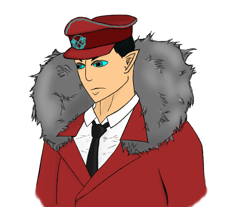 Captain Regda, at your Service by Enderparadox