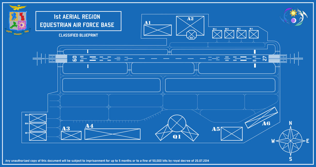 Equestrian air force blueprint by colonelwalther on deviantart equestrian air force blueprint by colonelwalther malvernweather Gallery