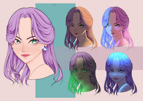 Lighting Study by 03JINX