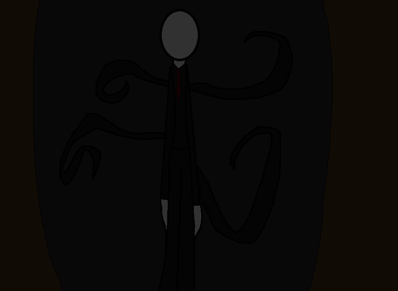 Slender Man by jennawenna