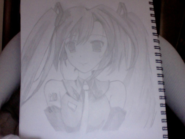 hatsune miku by anime-lover246