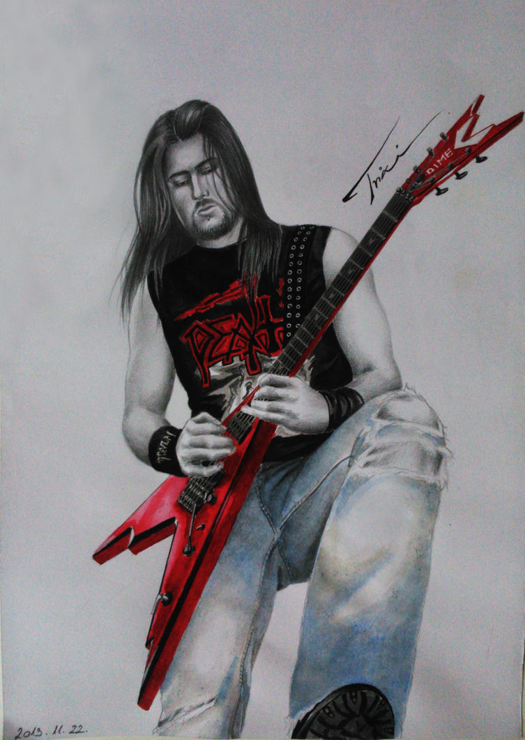 Corey Beaulieu of Trivium by Trix92
