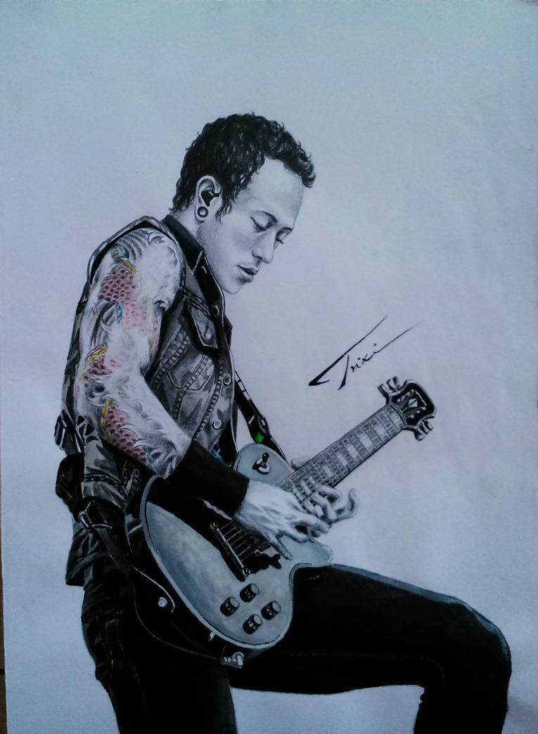 Matthew Heafy of TRIVIUM by Trix92