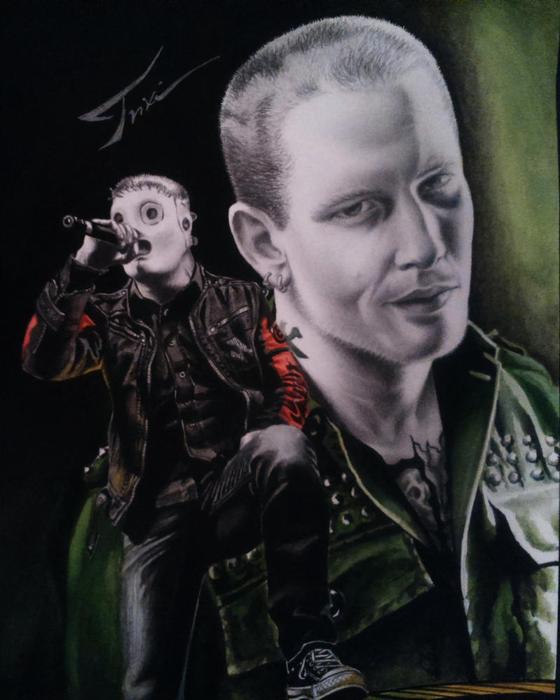 Corey Taylor - SLIPKNOT by Trix92