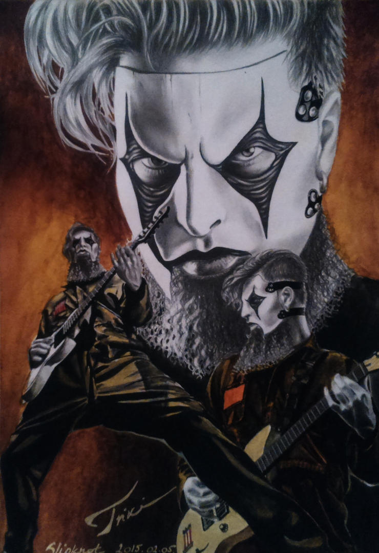 SLIPKNOT - James Root by Trix92
