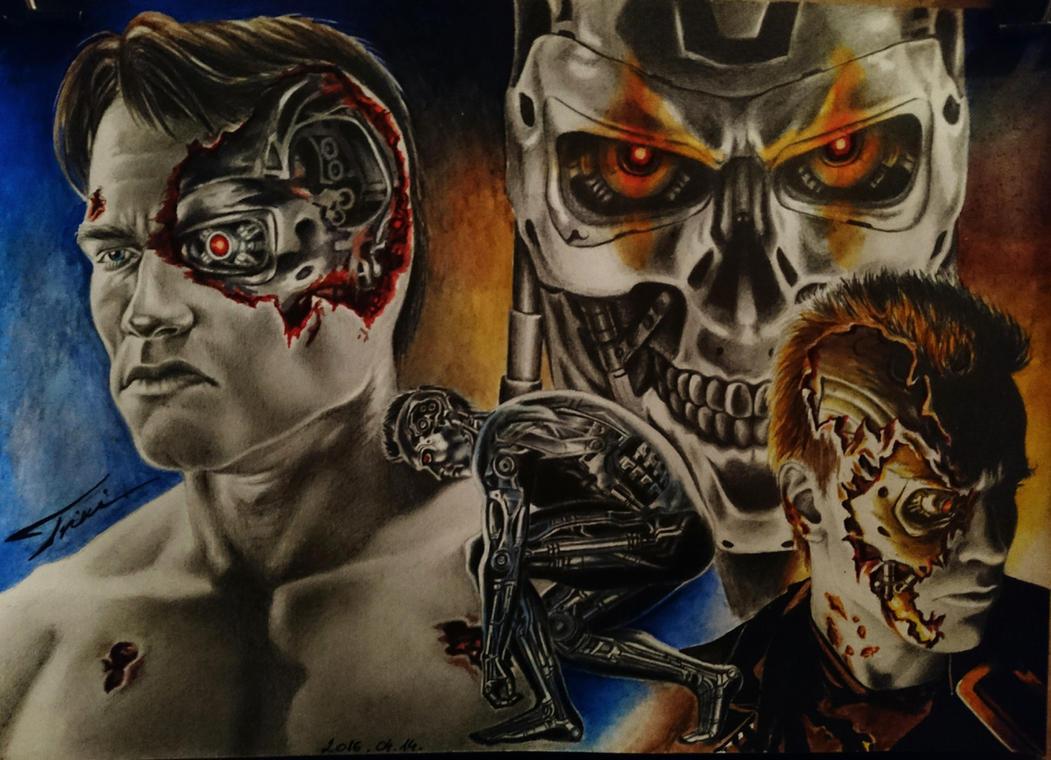 TERMINATOR - Arnold Schwarzenegger by Trix92