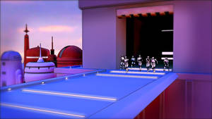 Stormtroopers in Cloud City