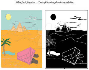 Etching Art to Illustration