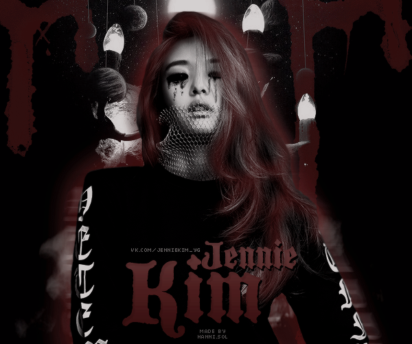 [AVATAR] BLACKPINK Jennie dark by jocherokee