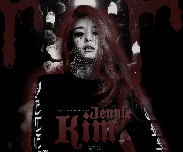 [AVATAR] BLACKPINK Jennie dark by jocherokee