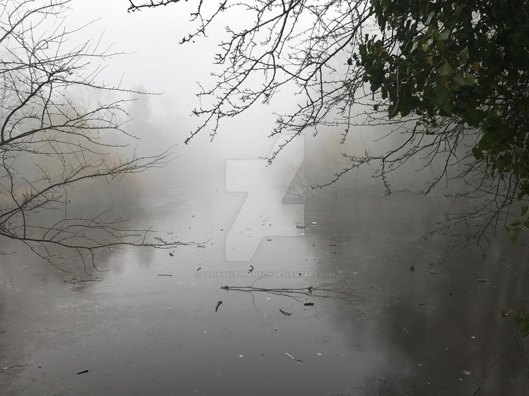 Lonely Lake by Flyingelephantch