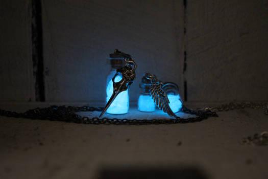 Bird Skull Glow In the Dark
