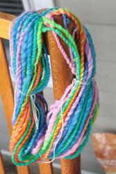 Candy Striped Yarn