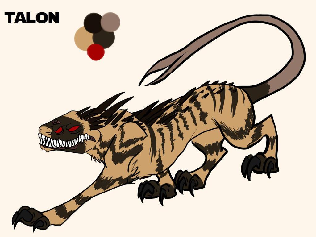 Talon the  nexu by KaoriSkywalker