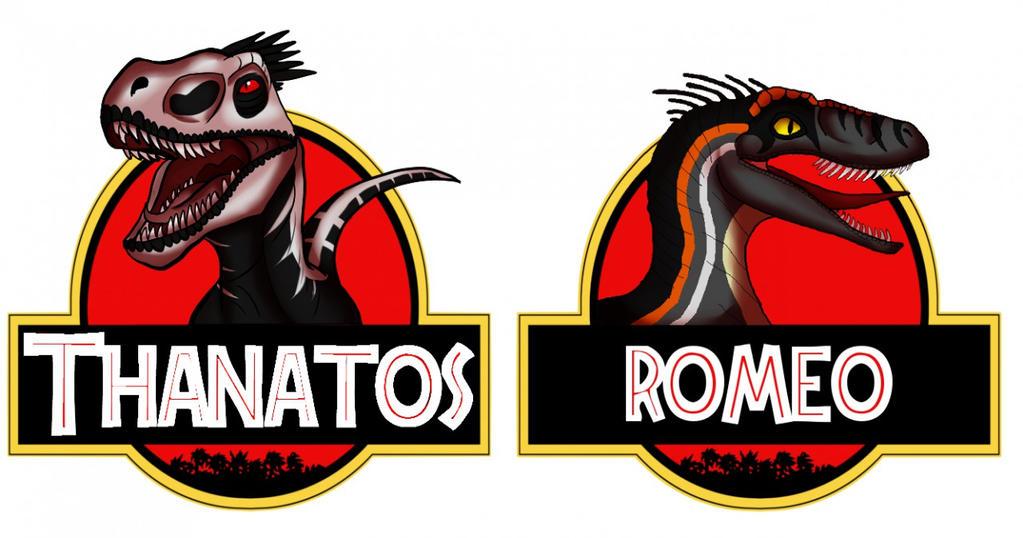 Jurassic Park Logo Badges By Kaoriskywalker On Deviantart