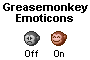 Emoticon Greasemonkey Icon Set by BoffinbraiN