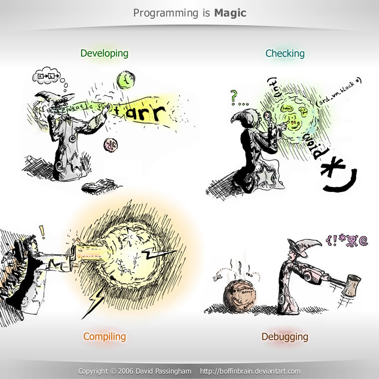 Programming Is Magic By Boffinbrain On Deviantart