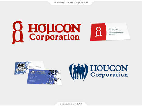 Houcon Corporation Branding