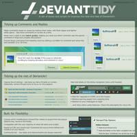 DeviantTidy 4.7.9 by BoffinbraiN