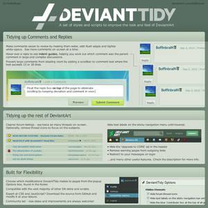 DeviantTidy 4.7.9