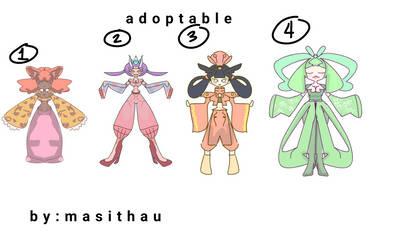 Adoptables by masithau