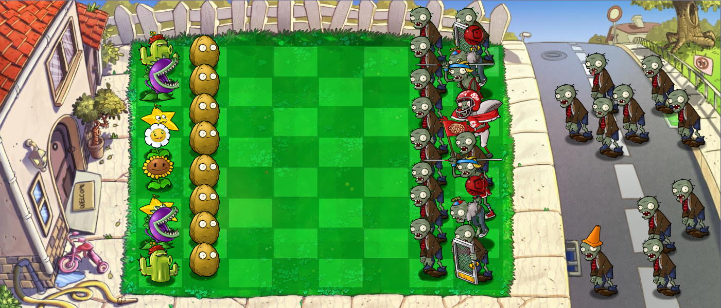 Plants vs zombies chess by vincent119
