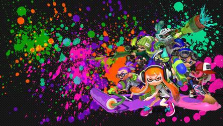Squid Squad Wallpaper [Splatoon] by SplashMob