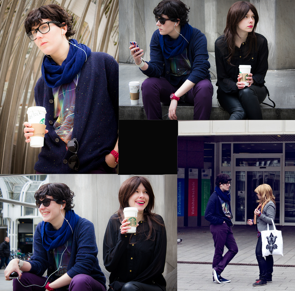 SHERLOCK: Arriving late. With Starbucks. by Shigeako