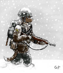 Snow Patrol by CaliberedFurs
