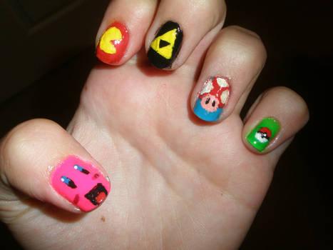 Gamer Nails by Happylod3