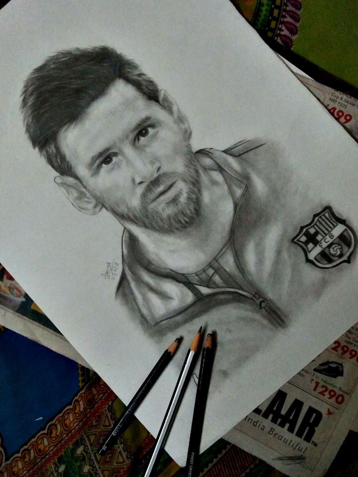 b97b5e25307 Lionel Messi Realistic Sketch by MarshmallowAmmy on DeviantArt