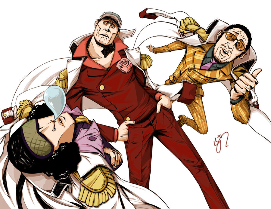 one piece admirals by dudandwiggles on DeviantArt
