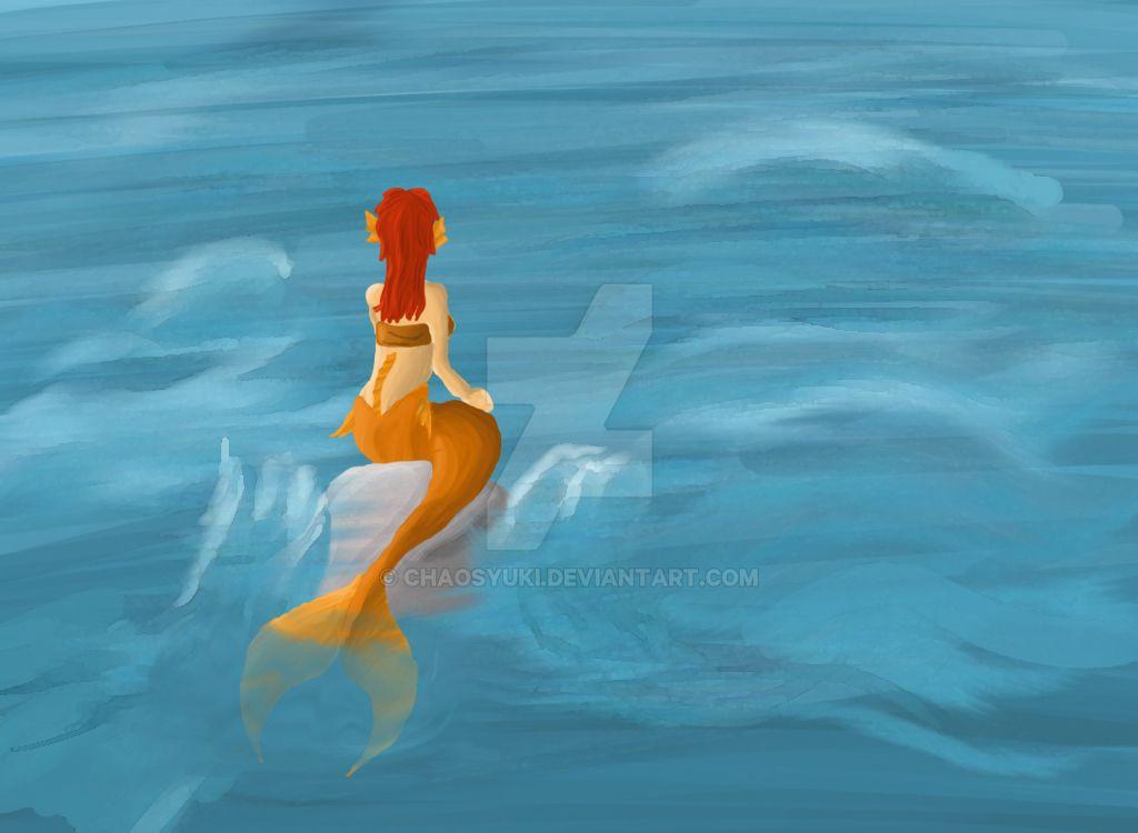 Mermaid by ChaosYuki